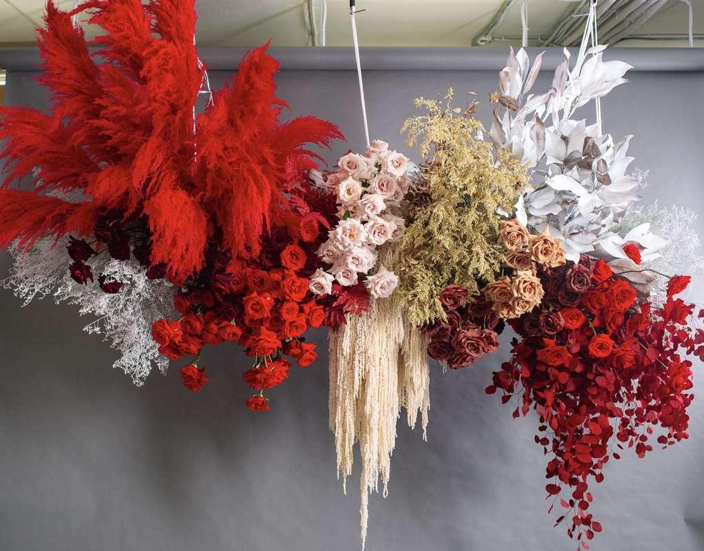 """Фото 18874010 в коллекции Композиции высокие, подвесные, арки, фотозоны - """"Allure"""" - flowers&decor"""