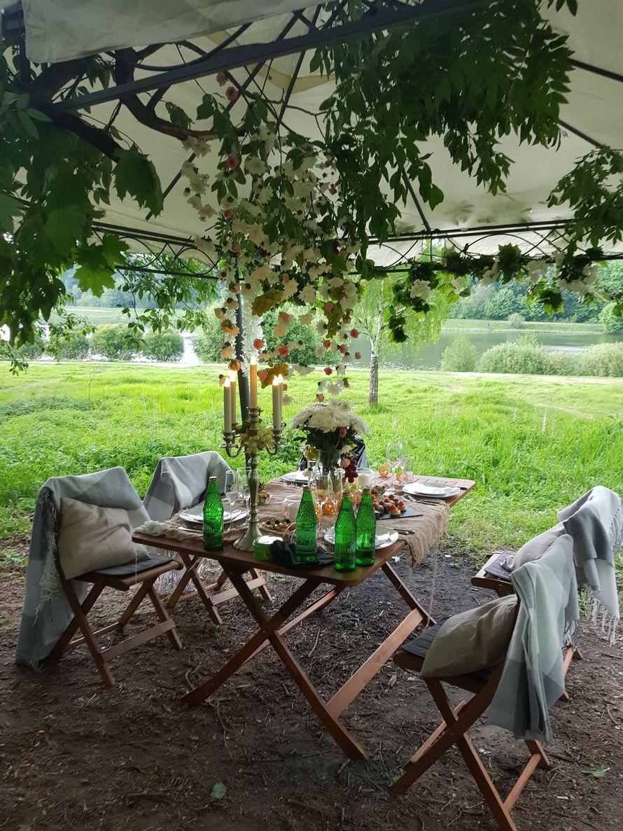 """свадебный пикник на 4 персоны на берегу озера - фото 18917406 Студия свадеб """"Luxury"""""""