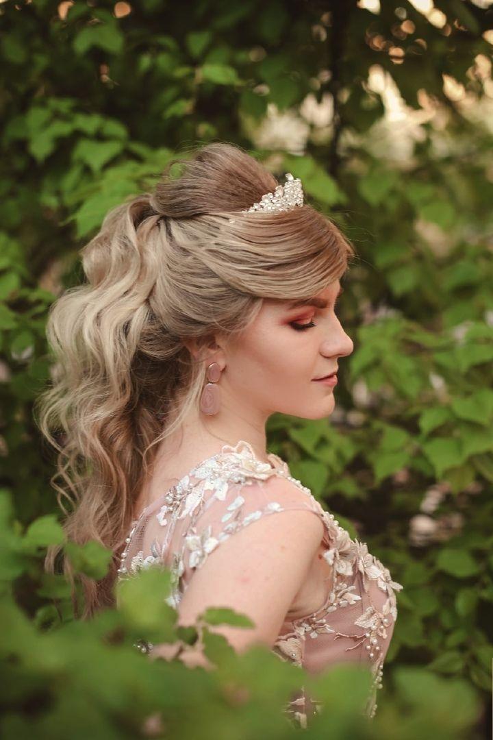 Репетиция образа невесты