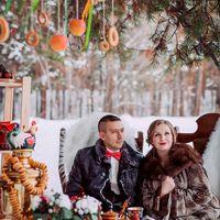 Самовар и хохлома- русский стиль зимой