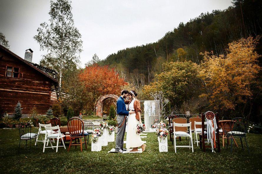 Фото 14955256 в коллекции Свадьба в стиле БОХО. МК Александры Мехедовой. - Декоратор Оксана Шмойлова
