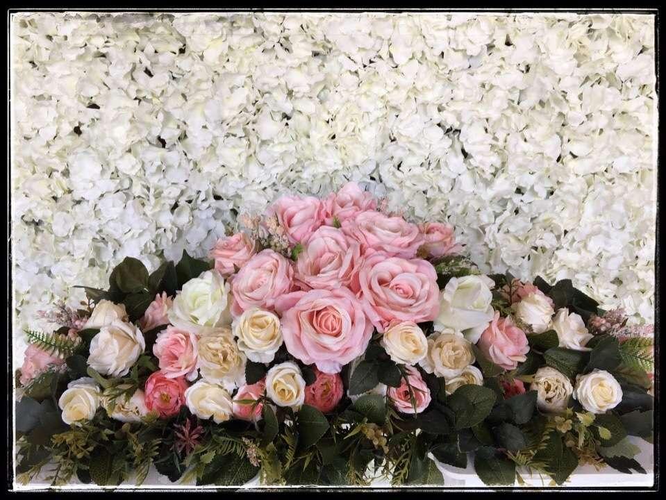 композиция на стол молодоженов - фото 18957126 Art flowers - свадебное агентство