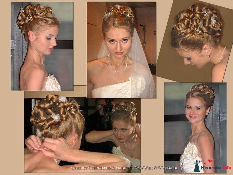 Прическа и макияж Елены (длинные волосы) - фото 116742 Свадебный стилист-визажист Севостьянова Наталья