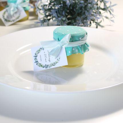 Бонбоньерка - баночка с мёдом/медовым муссом, 1 шт.