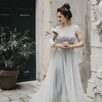 """Платье А-силуэта с вышивкой """"Дэйзи"""""""
