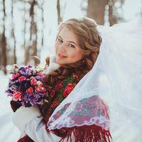 Алексей и Валерия. Зимняя свадьба в русском стиле