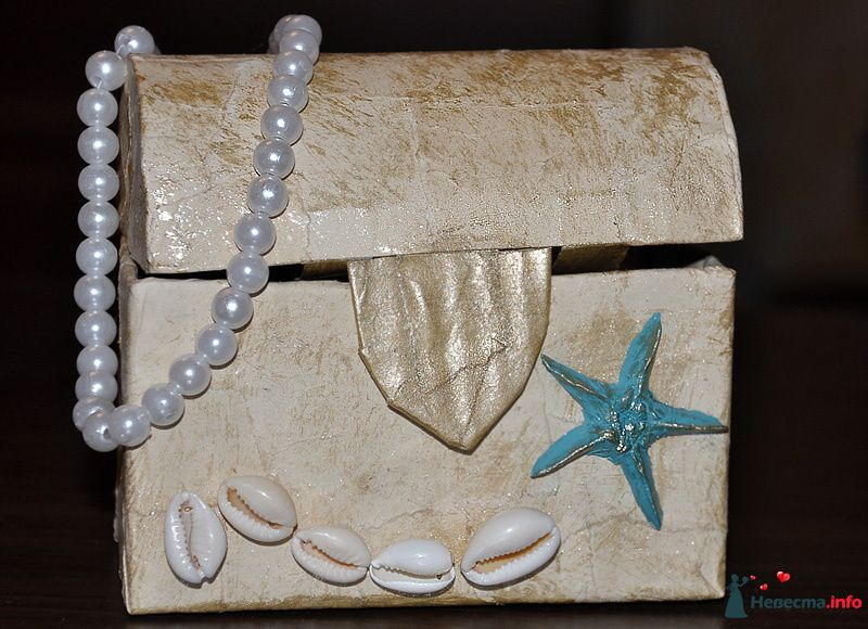 сундук для шоколадных монет - фото 95761 Katya-Kim