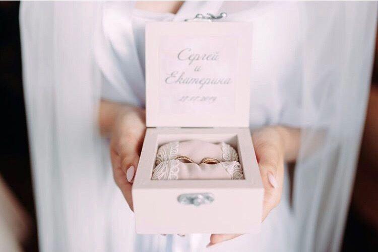 """Фото 19215960 в коллекции Пудровый свадебный набор для невесты Екатерины - Студия декора """"So Beautiful"""""""