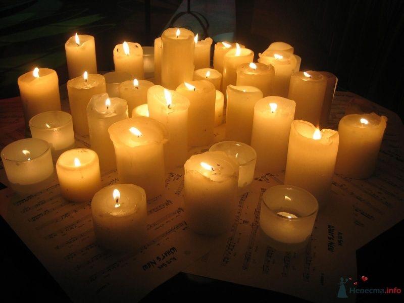 свечи и ноты - фото 63326 disandra