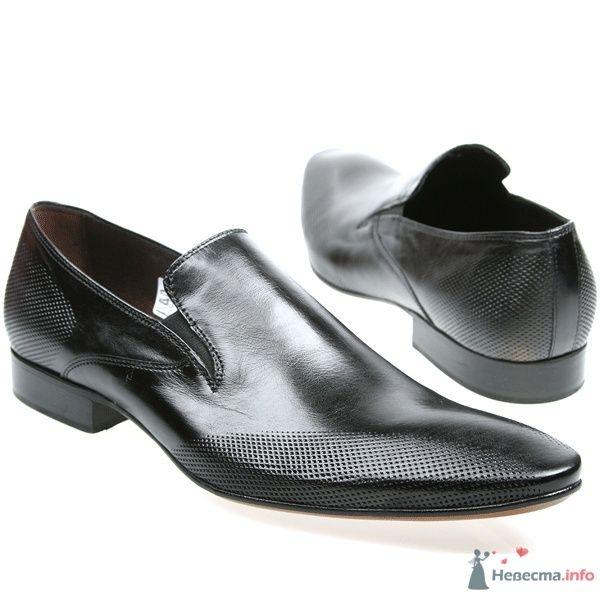 Мужские классические черные   кожаные туфли  - фото 66891 Kwinto-shoes - cвадебная обувь