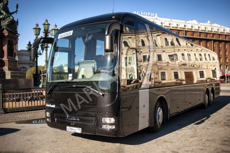 Автобус Man в аренду, 60 мест