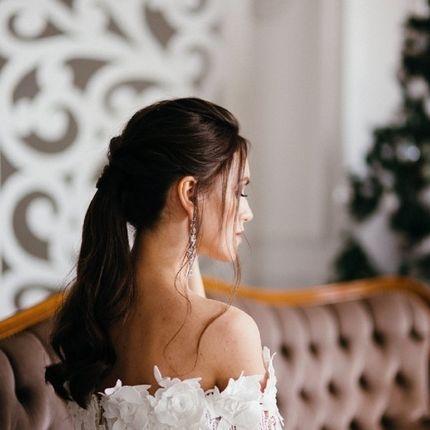 Репетиция причёски невесты