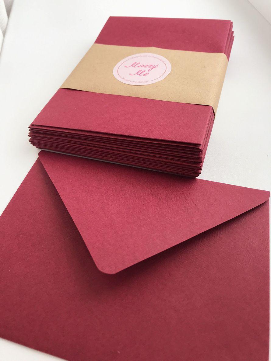 Конверты из дизайнерской бумаги, от 20 шт.