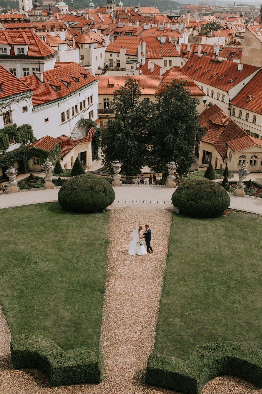 Фотосъёмка за границей - пакет Wedding day in Prague