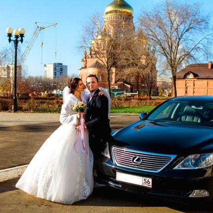 Аренда авто с водителем Lexus LS460 удлинённая версия