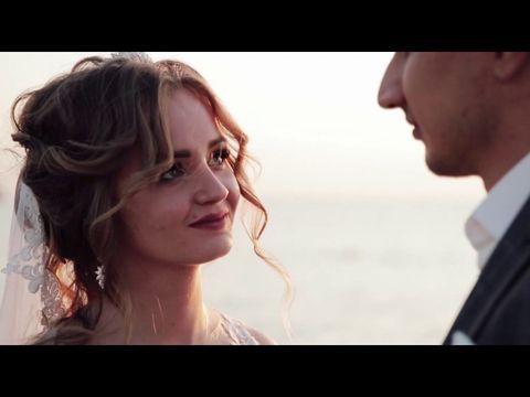 Свадьба Екатерины и Олега на море