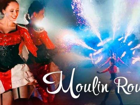 """Огненно-пиротехническое шоу """"Moulin Rouge"""""""
