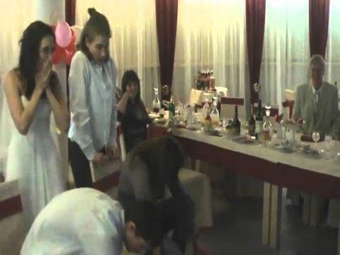 Свадебная эстафета. свадьба 26.02.2011 молодожёны Кирилл и Александра