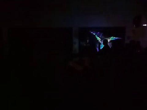 светодиодный танец
