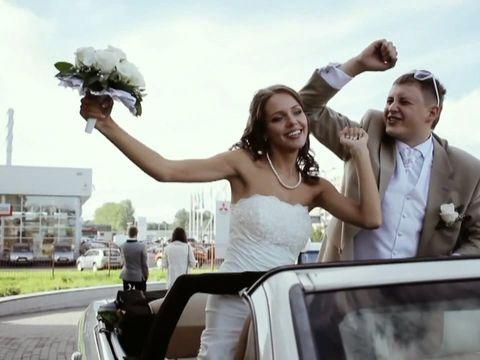Красивая свадьба Юрия и Алены 54