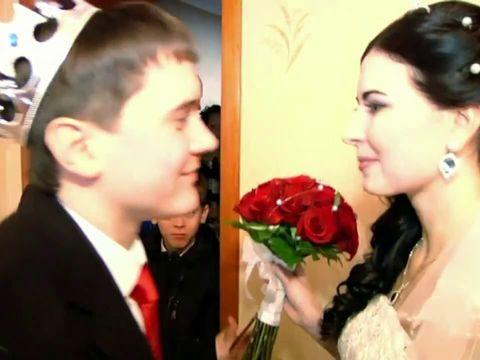 Красивая зимняя свадьба Константина и Ольги 32
