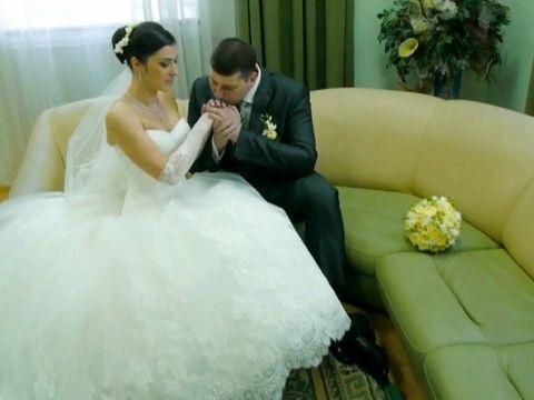 Красивая зимняя свадьба Кирилла Жанны 72