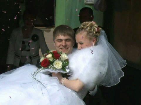 Красивая весенняя свадьба Сергея и Инессы 40