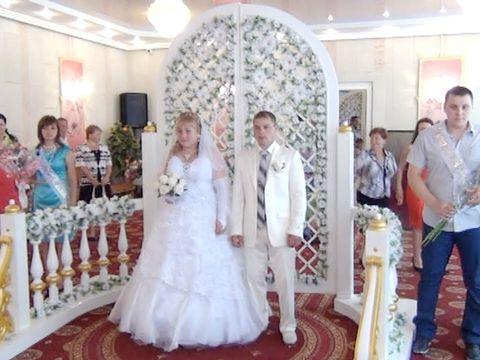 Красивая свадьба Игоря и Марты
