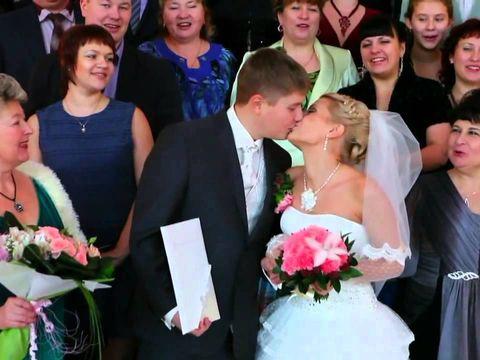 Красивая свадьба зимой Андрея и Яны 37