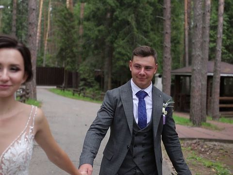 Евгений и Надежда,свадебный клип 02 08 2019