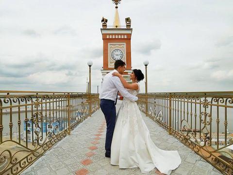 Свадьба Анастасии и Александра.
