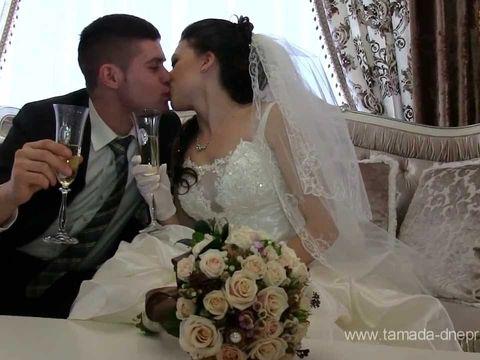 Видеосъёмка на свадьбу в Днепропетровске-Любовь и Шампанское