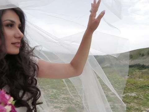Веселая свадьба Темирхана и Зарины