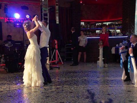 Конфетти шоу для первого танца, г. Курск