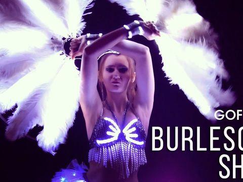 Световое шоу в Ростове Burlesque | GOF show