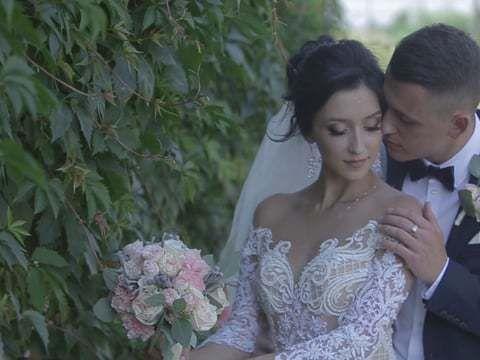 Stepan & Olena Wedding clip Love in film production