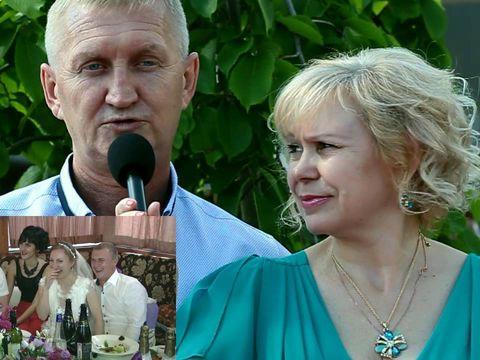 Интервью гостей на свадьбе