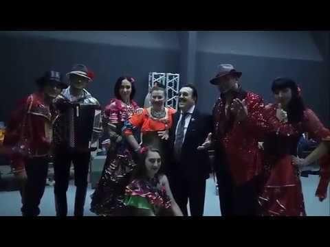 """Цыганский Ансамбль """"ЧЕРГЭН"""" на благотворительном концерте в Зеленом Театре!!!"""