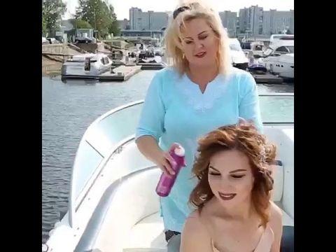 Предсвадебный девичник на яхте