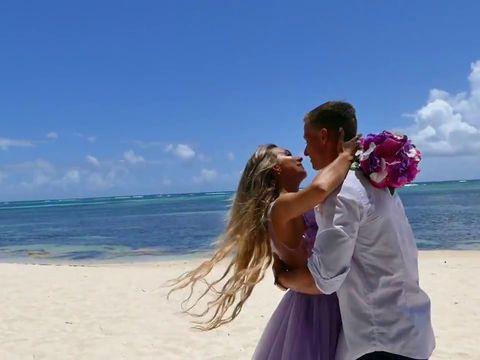 Алексей и Алена Cвадьба в Доминикане