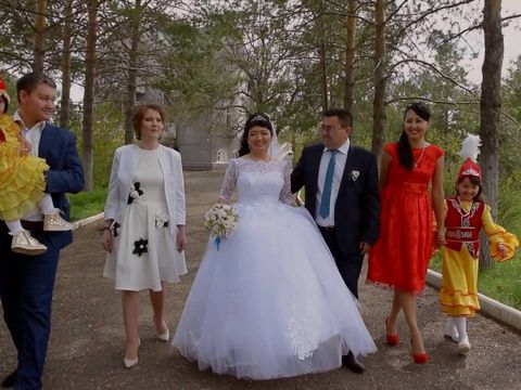 Свадебный клип Жанибек и Салтанат