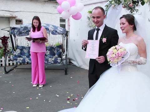 свадьба Антона и Ольги 21. 09. 12.