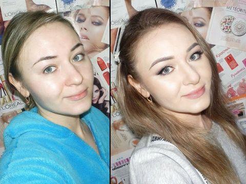 Ксения Саватеева. Идеальный легкий макияж