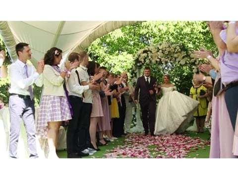 Свадебный день Михаила и Анастасии