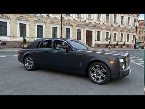 Обзор на Rolls-Royce Phantom