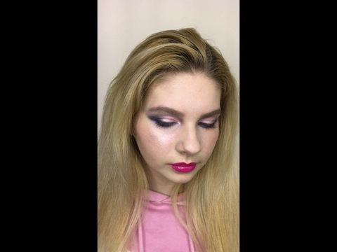 Репетиция макияжа для невесты